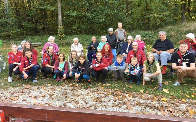 Unsere GuSp zu Besuch im Seniorenheim – 14.10.2017